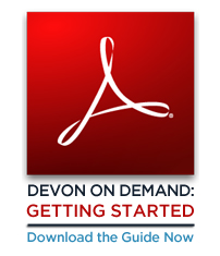 Devon On Demand Quickstart